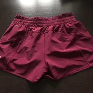 Lululemon tracker shorts. 10